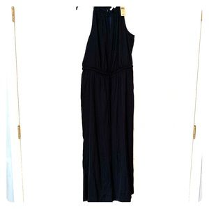 NWT LOFT navy blue sleeveless jumper